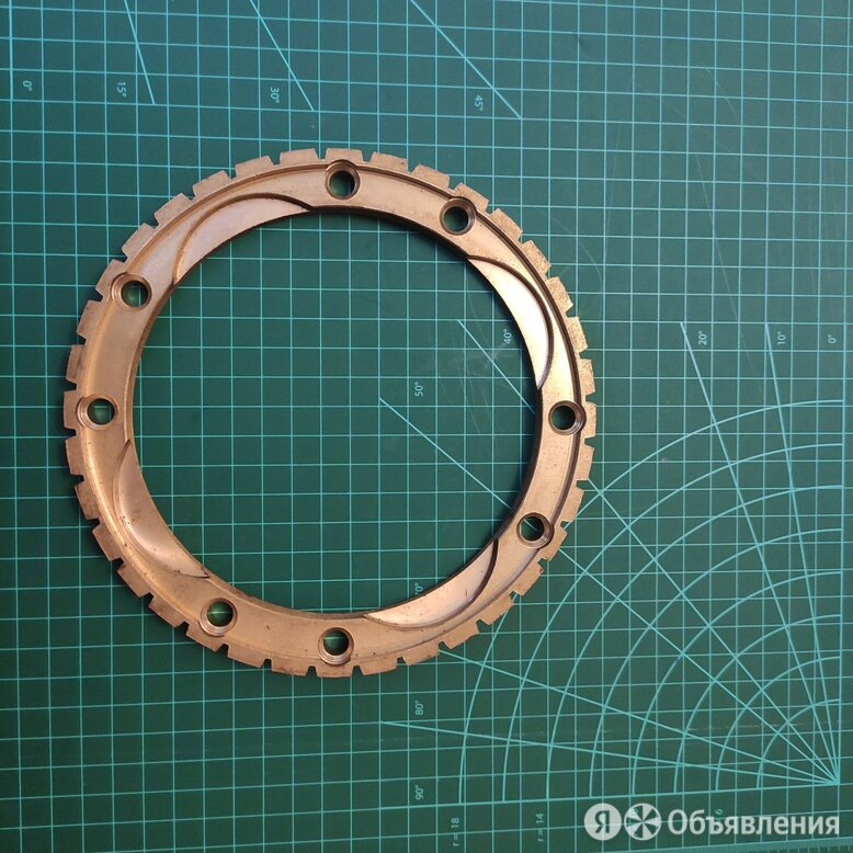 2 шт Кольцо синхронизатора делителя 202 КПП 201-1721157 по цене 15000₽ - Трансмиссия , фото 0
