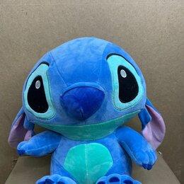 Мягкие игрушки - Мягкая игрушка стич и лило синий 35 см, 0