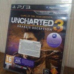 Игры для приставок и ПК - Диск PS3 Uncharted 3: Drake`s Deception б/у, 0