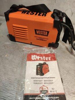 Сварочные аппараты - Инвертор сварочный  Wester MINI250T , 0