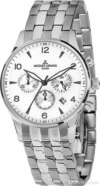 Наручные часы Jacques Lemans 1-1654ZF по цене 20510₽ - Наручные часы, фото 0
