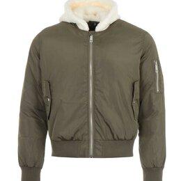 Куртки - True Religion Men's brow Sherpa Hood Bomber Jacket, 0