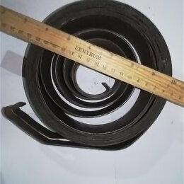 Уголки, кронштейны, держатели - Пружина противовеса Диаметр внешний 165 внутренний 52 ширина 50 загиб внутрь, 0