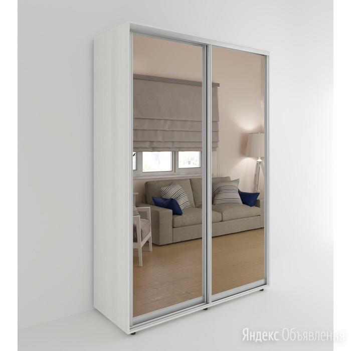 Шкаф-купе «Акцент-Сим ЗЗ», 1600 × 600 × 2310 мм, зеркало, цвет выбеленное дерево по цене 32435₽ - Шкафы, стенки, гарнитуры, фото 0