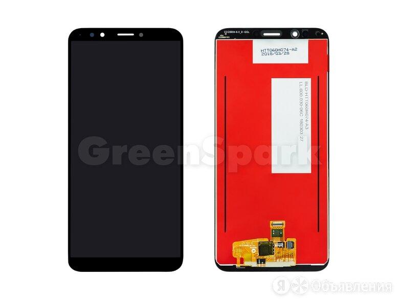 Дисплей для Huawei Honor 7C Pro (LND-AL30) + тачскрин (черный) по цене 1900₽ - Дисплеи и тачскрины, фото 0