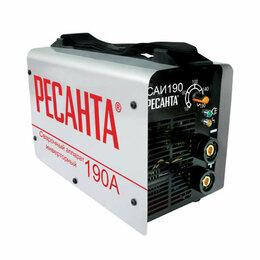 Сварочные аппараты - Инвертор сварочный САИ-190 190А d5 140-240В IP21 горячий старт Ресанта 65/2, 0