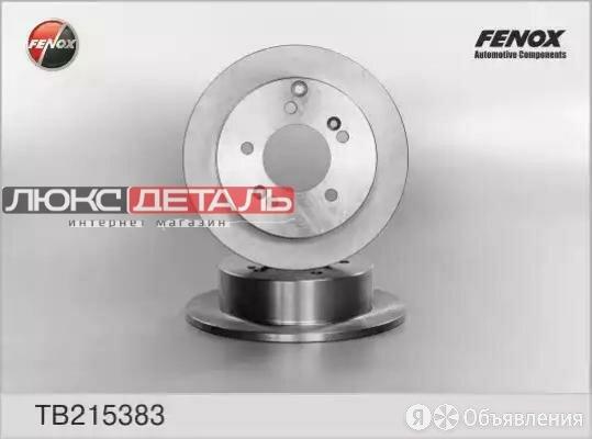 FENOX TB215383 TB215383_диск тормозной задний\ Hyunadi Tuscon/Sonata V 2.0/2.... по цене 1474₽ - Тормозная система , фото 0