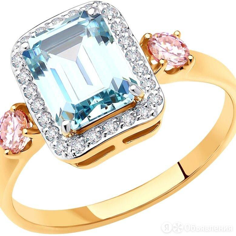 Перстень SOKOLOV 81010500_s_18-5 по цене 9000₽ - Кольца и перстни, фото 0