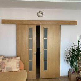 Межкомнатные двери - Раздвижная дверь межкомнатная двухстворчатая, 0