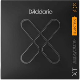 Струны - XTE1046 XT D'Addario никелированные 10-46 с покрытием, 0