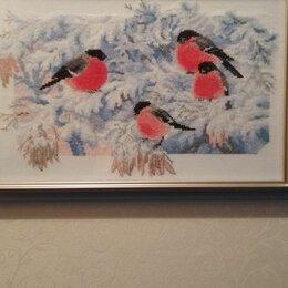 Картины, постеры, гобелены, панно - Вышивка риолис морозное утро, 0