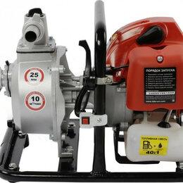 Мотопомпы - Мотопомпа бензиновая DDE WP250 для слабозагрязненной воды [919-891], 0