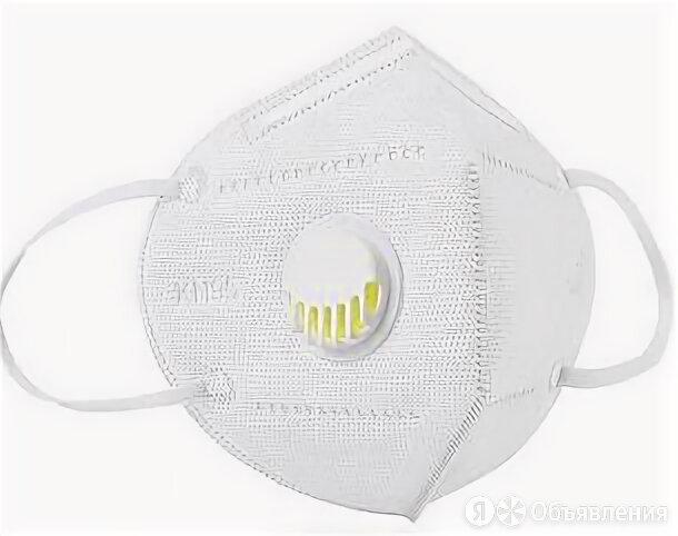 Респиратор KN95 складной с клапаном выдоха FFP2 NR по цене 85₽ - Средства индивидуальной защиты, фото 0