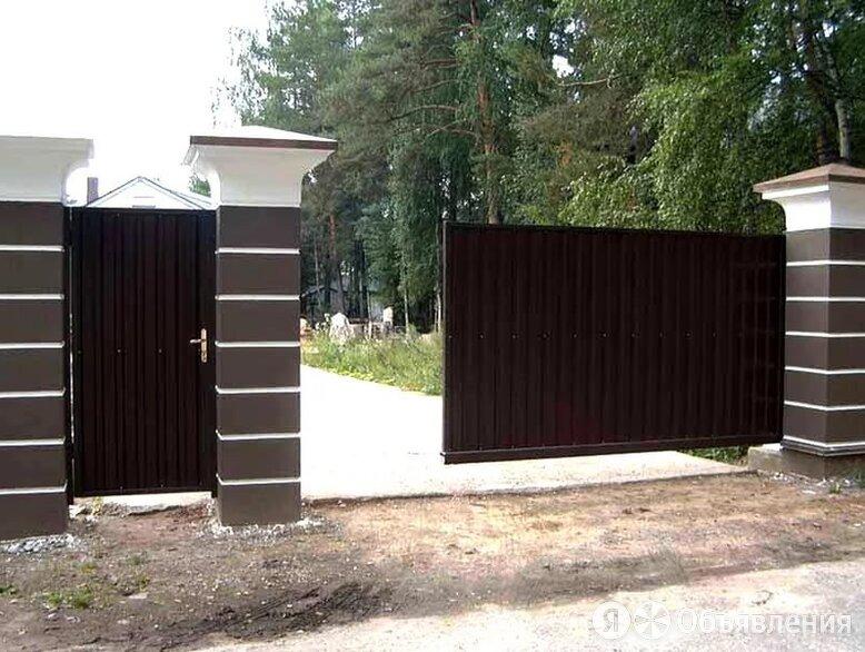 Откатные ворота по цене 31500₽ - Заборы, ворота и элементы, фото 0