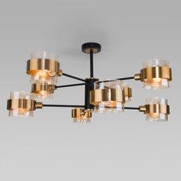 Люстры и потолочные светильники - EUROSVET - 70127/8 черный, 0