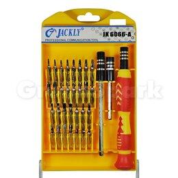 Отвертки - Набор отверток Jackly JK-6066A (33 в 1), 0
