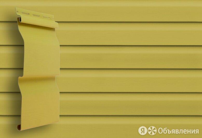 """Сайдинг-панель """"Сибирский брус"""" Кремовый по цене 289₽ - Сайдинг, фото 0"""