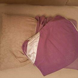 Подушки - Подушка из гречневой лузги с наволочкой, 0