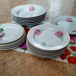 Тарелки - Посуда:тарелки,чашки,чайники и сахарница, 0