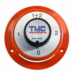 """Концевые, позиционные и шарнирные выключатели - Выключатель массы """"OFF-1-BOTH-2"""" (2 АКБ), 175 А, красный, 0"""