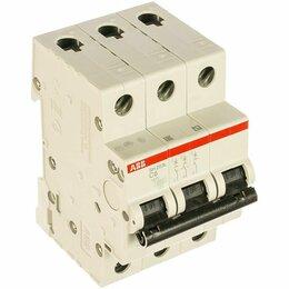 Концевые, позиционные и шарнирные выключатели - Автоматический выключатель 3-пол. SH203L C63(63А), 0