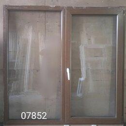 Готовые конструкции - Пластиковое окно (б/у) 1600(в)х1630(ш), 0