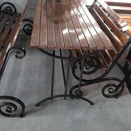 Скамейки - Садовая парковая мебель, 0