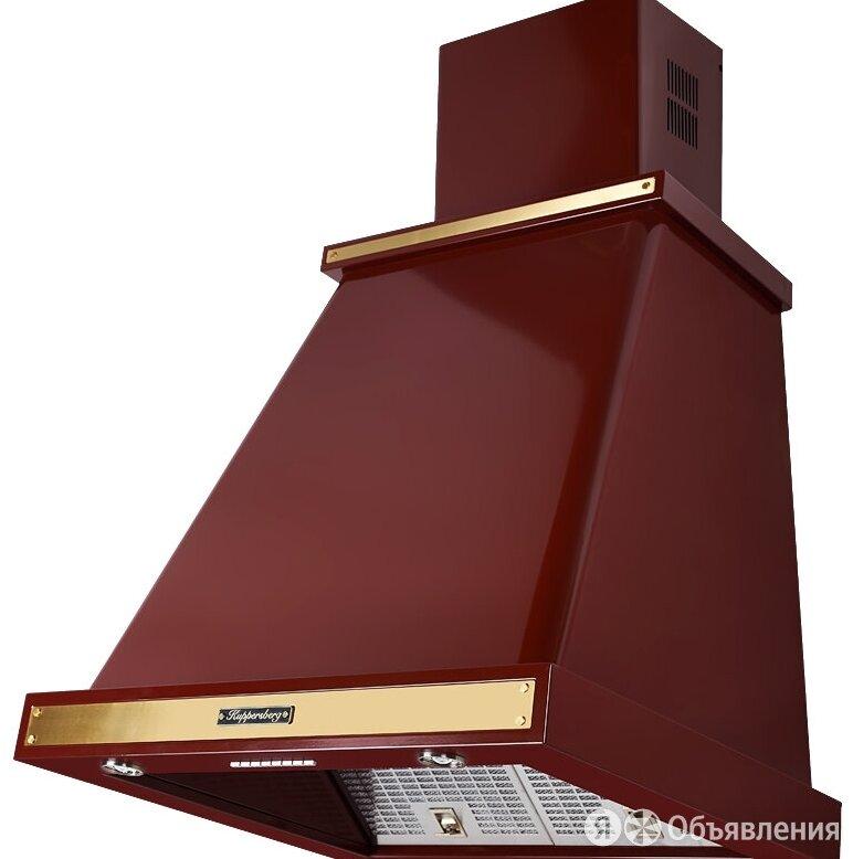 Вытяжка KUPPERSBERG T 669 BOR Bronze 60 красный/бронза окантовка по цене 42420₽ - Вытяжки, фото 0
