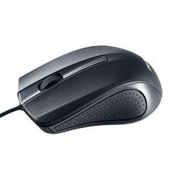 Коврики для мыши - Мышь проводная оптическая Perfeo RAINBOW, 3 кн, 1000 dpi, USB, чёрная (PF-353..., 0