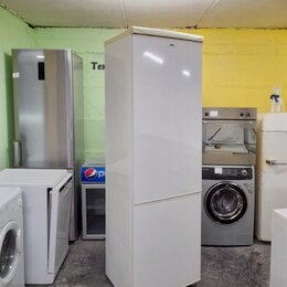 Холодильники - Холодильник двухметровый бу Zanussi , 0