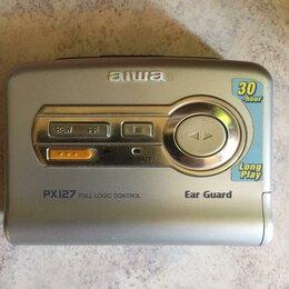 Музыкальные центры,  магнитофоны, магнитолы - Кассетный плеер aiwa PX 127 , 0