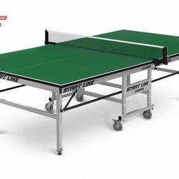 Столы - теннисный стол start line leader green, 0