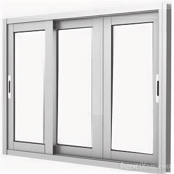 Окно раздвижное пластиковое 2300*1400 по цене 18656₽ - Окна, фото 0