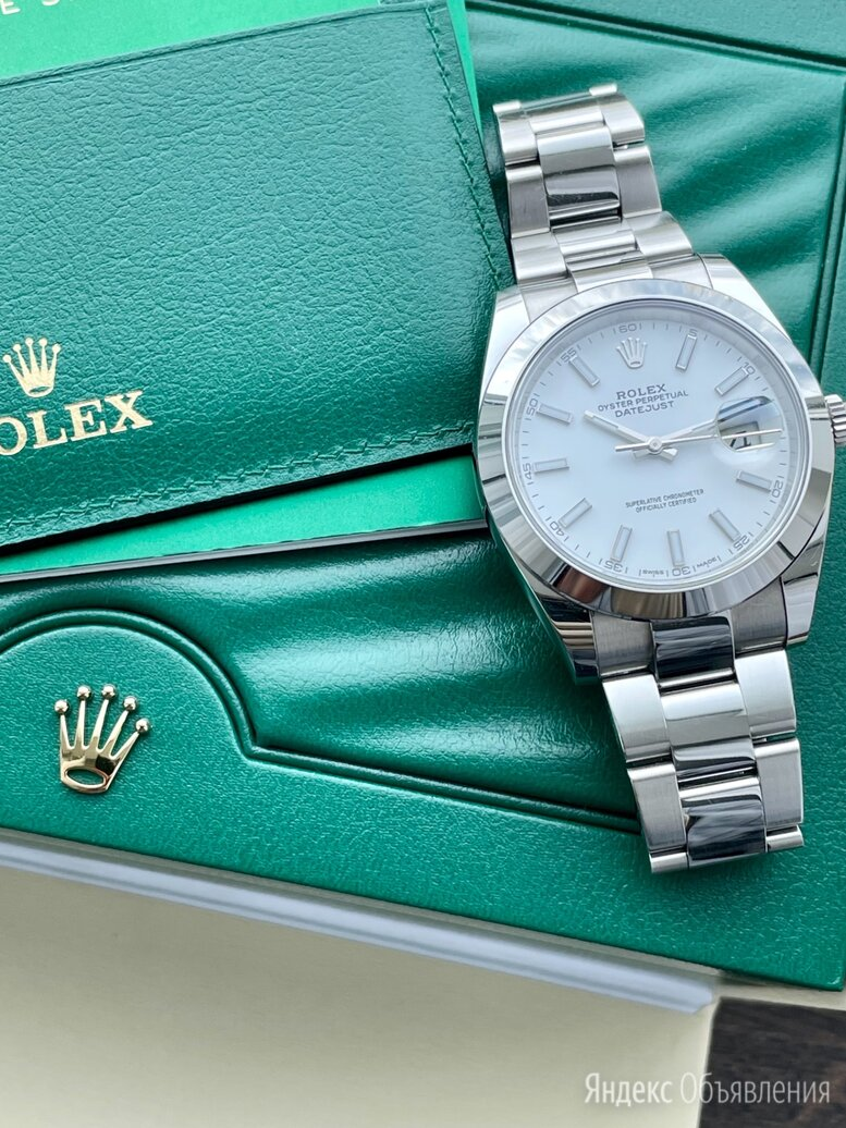 Rolex Datejust 41mm по цене 600000₽ - Наручные часы, фото 0