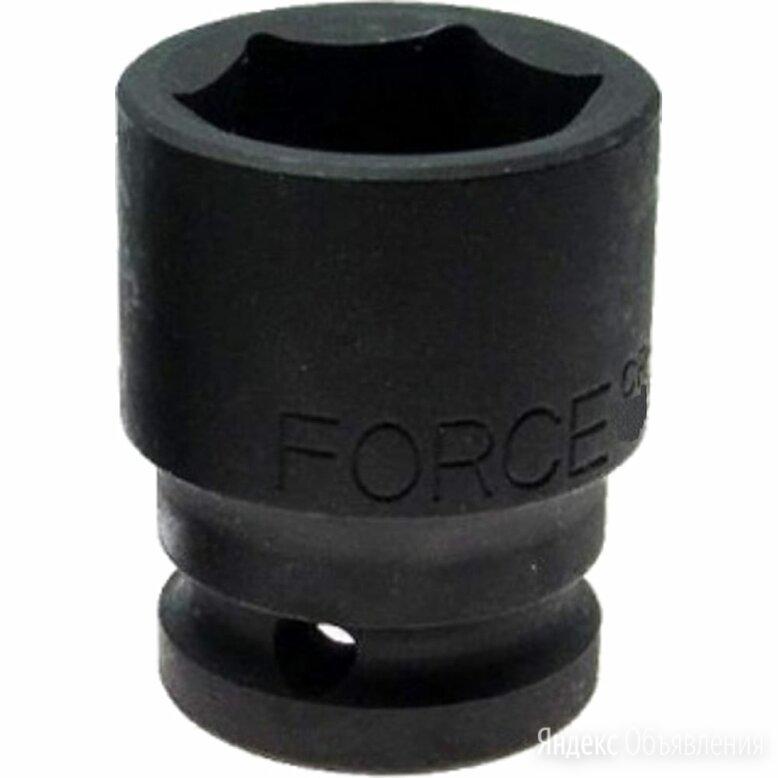 Шестигранная ударная головка FORCE 48558 по цене 2258₽ - Грузоподъемное оборудование, фото 0