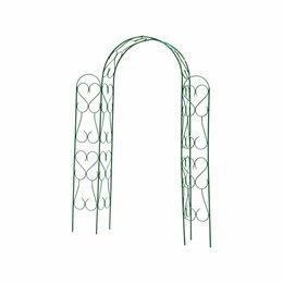 Шпалеры, опоры и держатели для растений - Угловая разборная декоративная арка Grinda АМПИР, 0