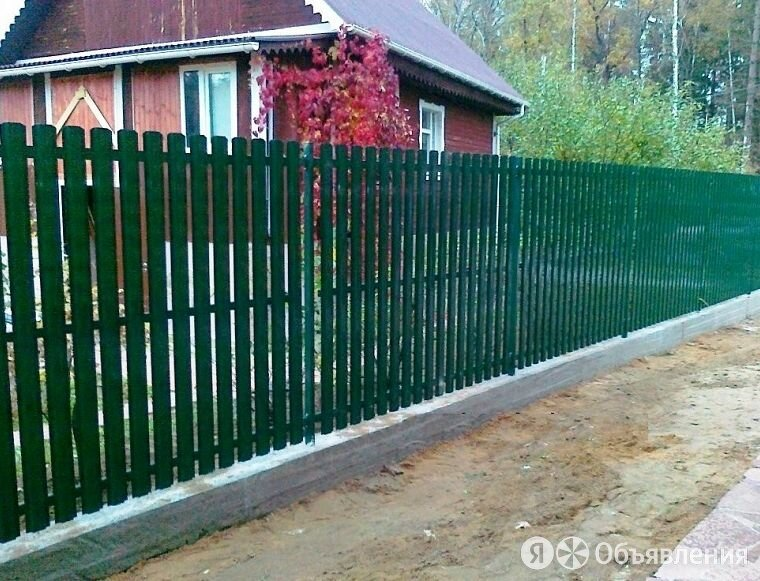 Забор из металлоштакетника по цене 36₽ - Заборы, ворота и элементы, фото 0