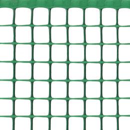 Заборчики, сетки и бордюрные ленты - Сетка садовая Ф-20, ячейка 20x20мм, рулон 1x10м, зеленая, 0