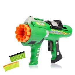 Игрушечное оружие и бластеры - Бластер - Сокрушитель, стреляет мягкими пулями, цвет микс, 0