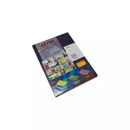 Бумага и пленка - Бумага Самоклеящаяся А4 Devente Neon Оранжевая 206, 0