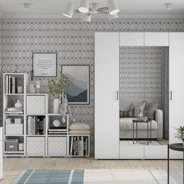 Шкафы, стенки, гарнитуры - 🗄 Шкаф 1'6 белый, 0