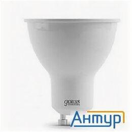 Лампочки - Gauss 13616 Светодиодная лампа Led Elementary Mr16 Gu10 5.5w 430lm 2700К 1/10..., 0