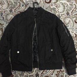 Куртки - Короткая куртка бомбер, 0