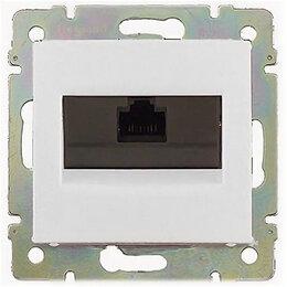 Радиодетали и электронные компоненты - Legrand 774238 Розетка Valena RJ45 белая 5e, 0