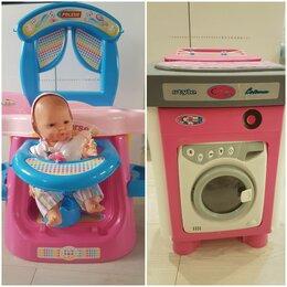 Развивающие игрушки - Наборы детские полесье Стиральная машина и Няня+ Пупс, 0