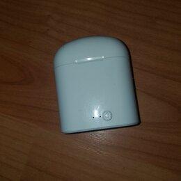 Наушники и Bluetooth-гарнитуры - Продаю наушники аэроподс, 0