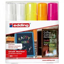 Письменные и чертежные принадлежности - Меловых набор маркеров EDDING E-4090/5S, 0