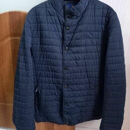 Куртки - Куртка мужская демисезонная р.50 темно-синяя, 0