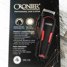 Машинки для стрижки и триммеры - Профессиональная машинка для стрижки cronier cr-112, 0