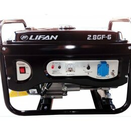Электрогенераторы и станции - Генератор Lifan 2.8 GF-6, 0